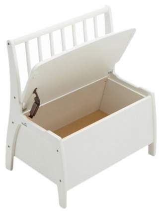 Скамья игровая с ящиком для игрушек Geuther Bambino 2520 WE Белый
