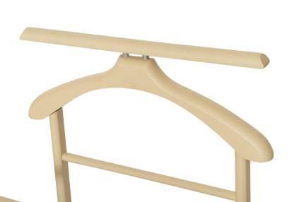 Вешалка костюмная Мебелик В 22Н Слоновая кость