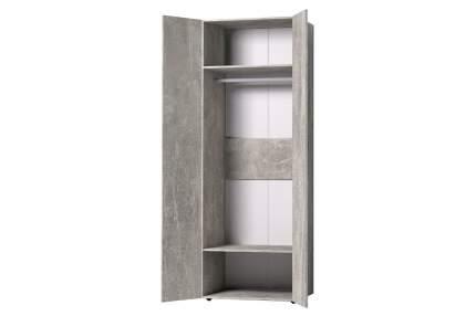 Платяной шкаф Hoff Канкун 80331902 79,8х230х57,9, atelier светлый