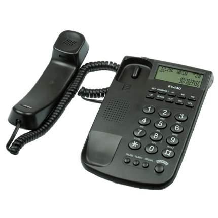 Телефон проводной Ritmix RT-440 Black