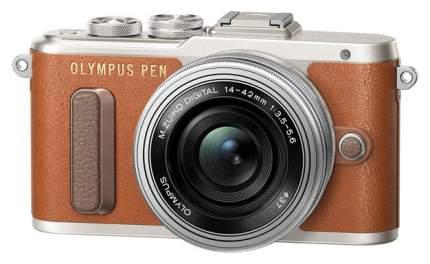 Фотоаппарат системный Olympus E-PL8 brown + 14-42 EZ silver