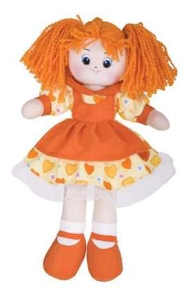 Кукла Gulliver Апельсинка в платье с сердечками, 40 см