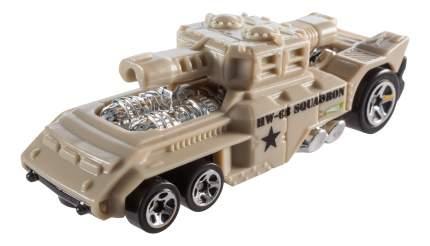 Машина военная Hot Wheels меняющая цвет BHR15 DNN07