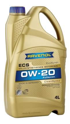 Моторное масло Ravenol ECS EcoSynth SAE 0W-20 4л