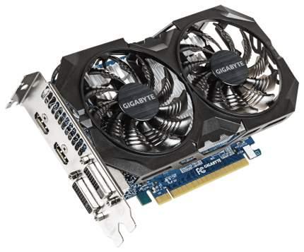 Видеокарта GIGABYTE Windforce GeForce GTX 750 Ti (GV-N75TWF2OC-4GI)