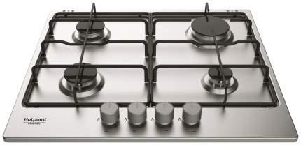Встраиваемая варочная панель газовая Hotpoint-Ariston 642 W/IX/HA EE Silver