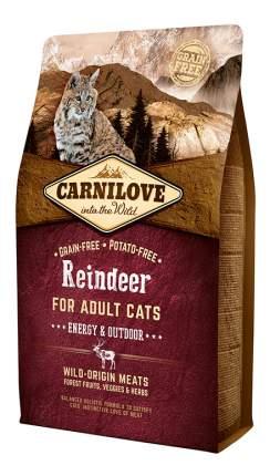 Сухой корм для кошек Carnilove Energy & Outdoor, для активных уличных, оленина, 2кг