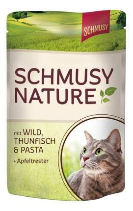 Влажный корм для кошек Schmusy Nature's Menu, с дичью и тунцом, 100г