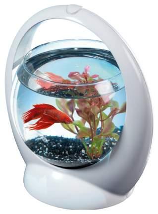 Аквариум для рыб Tetra Betta Ring, шар, бесшовный, белый,1,8 л