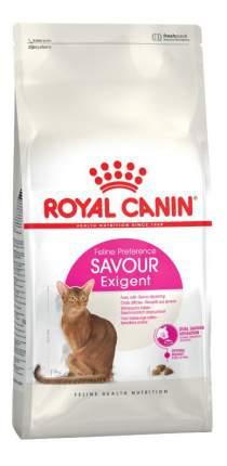 Сухой корм для кошек ROYAL CANIN Savour Exigent, для привередливых к вкусу, 4кг