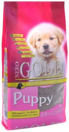 Сухой корм для щенков NERO GOLD Puppy, все породы, курица и рис, 18кг