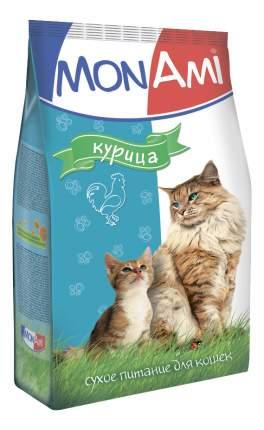 Сухой корм для кошек MonAmi, курица, 10кг