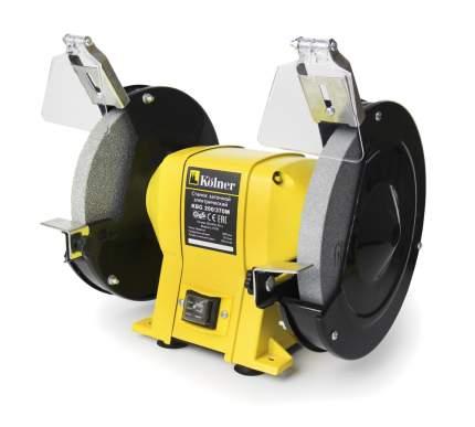 Станок точильный Kolner KBG 200/370 М желто-черный (кн200-370мбг)
