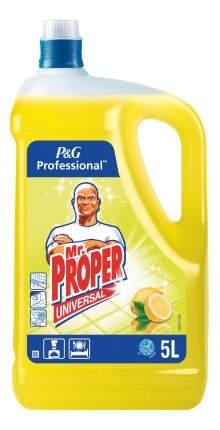 Универсальное чистящее средство для мытья полов Mr. Proper лимон 5 л