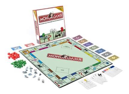 Экономическая настольная игра Hasbro Хасбро Монополия Классическая