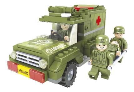Конструктор пластиковый Ausini Армия спец отряд
