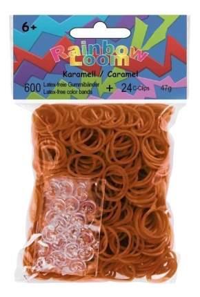 Плетение из резинок Rainbow Loom Резинки Желтый-Рыже-Коричневый