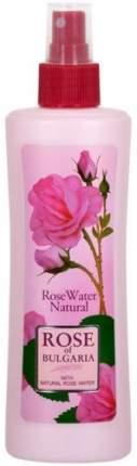 Натуральная розовая вода ROSE OF BULGARIA С пульверизатором, 230 мл