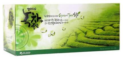 Бумажные платки Monalisa Bellagio Green Tea 180+30 шт