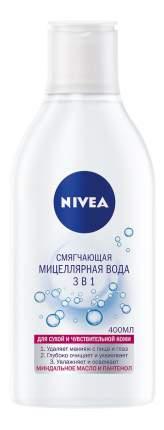 Мицеллярная вода NIVEA Смягчающая 3в1 для сухой и чувствительной кожи, 400 мл