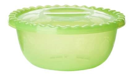 МИСКА круглая с крышкой 3л (салатовая)