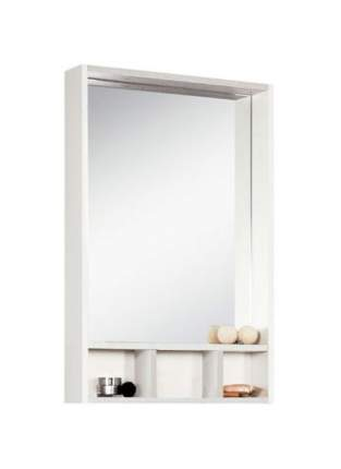 Зеркальный шкаф Йорк 60 белый/выбеленное дерево