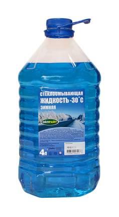 Жидкость стеклоомывателя зимняя OILRIGHT -30°C 4л 5203