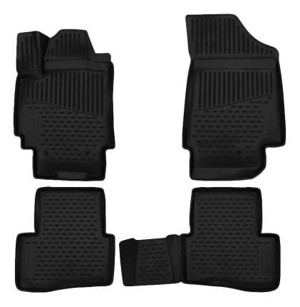 Комплект ковриков в салон автомобиля Autofamily для Hyundai (ELEMENT3D2063210k)