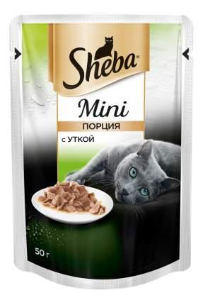 Влажный корм для кошек Sheba Mini c уткой, 50г