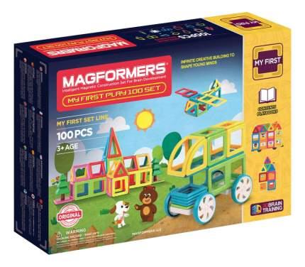Конструктор магнитный Magformers My First Play 100