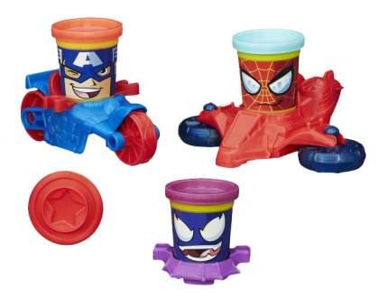 Набор для лепки из пластилина Play-Doh Транспортные средства героев Марвел