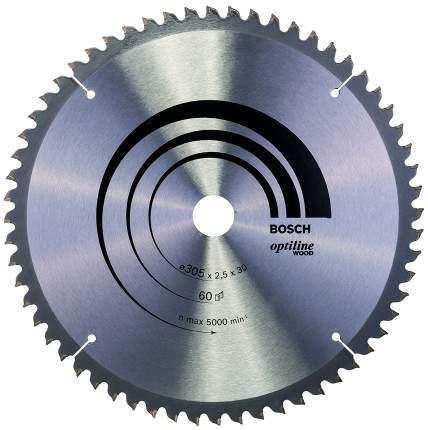 Диск по дереву Bosch STD WO 305x30-60T 2608640441
