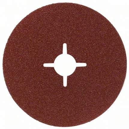 Круг фибровый Bosch125мм P80 E,f,Metal 2608605477