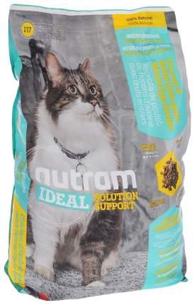 Сухой корм для кошек Nutram Indoor, для домашних привередливых, домашняя птица, 1,8кг