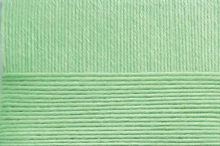 Пряжа для вязания Пехорка Элегантная 10 шт. по 100 г 250 м цвет 086 анис