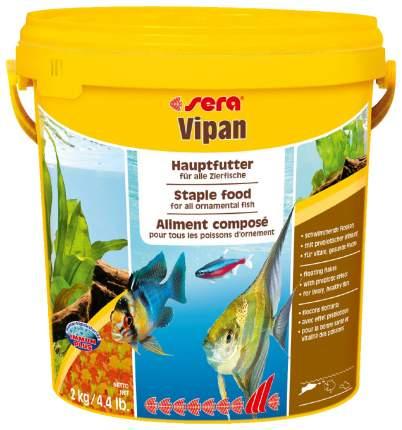 Корм для рыб Sera VIPAN, хлопья, 10 л