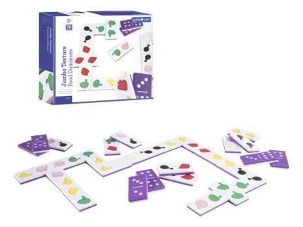 Семейная настольная игра Guidecraft Текстурное домино Еда G5056