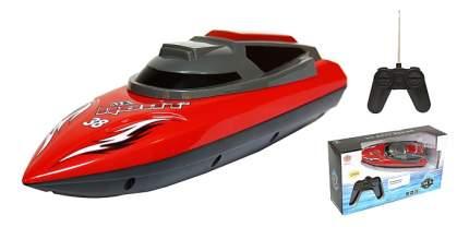 Радиоуправляемый катер Shantou Gepai Катер Heat красный от 6 лет пластик