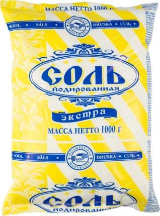 Соль поваренная пищевая Полесье экстра йодированная 1 кг
