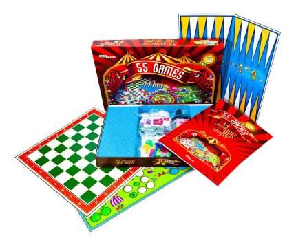 Настольная игра 55 лучших игр мира Step Puzzle 76073