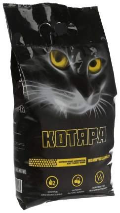 Наполнитель Котяра комкующийся 12 л 5 кг бентонитовый 4 шт