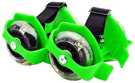Детские роликовые коньки Gratwest flashing roller зеленые Т15871