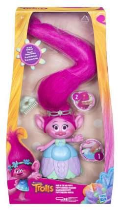 Игровой набор Hasbro Trolls Poppy с супер длинными поднимающимися волосами