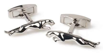 Посеребренные запонки Jaguar Leaper Cufflinks, Silver Plated, артикул JJCLLEAPCS