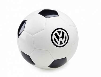 Футбольный мяч Volkswagen Logo Football, White/Black, артикул 231050540