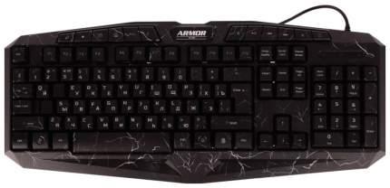 Игровая клавиатура CBR KB 870 Armor Black