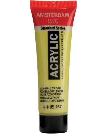 Акриловая краска Royal Talens Amsterdam №267 желтый лимонный АЗО 20 мл