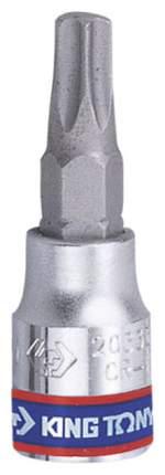 Торцевая головка с вставкой битой KING TONY 203340
