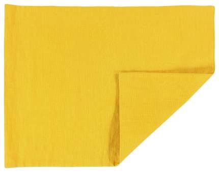 Салфетка под приборы с декоративной обработкой Essential 35х45 желтая