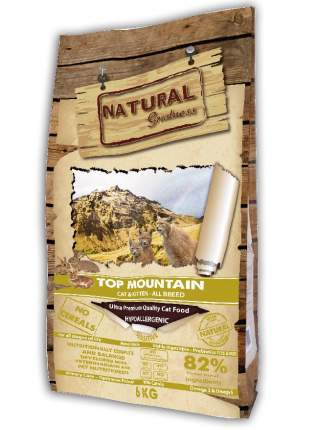 Сухой корм для кошек Natural Greatness Top Mountain, кролик, 6 кг
